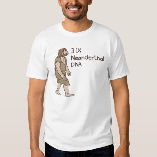 3.1% Neanderthal Shirt