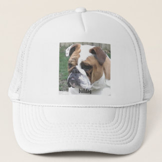 3-29-06 009, bulldog trucker hat