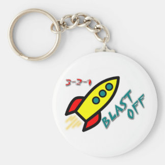 3-2-1 BLAST OFF KEY RING