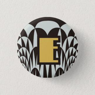 3.2cm Can batch [Art Deco] 3 Cm Round Badge