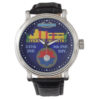3/47th Inf. 9th Div. CIB ATC Watch