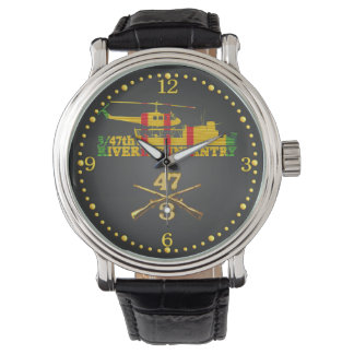 3/47th Inf. Crossed Rifles & ATC(H) Watch