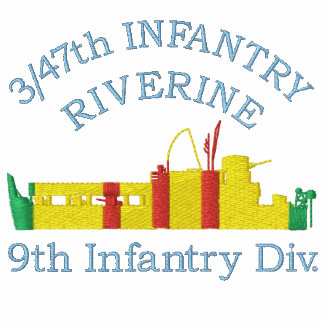 3/47th Inf. Riverine ATC Embroidered Shirt