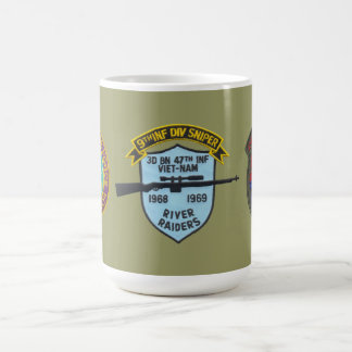 3/47th Infantry (Riverine) Sniper 9th Division Mug