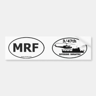 3/47th Riverine Infantry ATC(H) MRF Euro-Stickers Bumper Stickers
