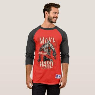 3/4 Sleeve Hard Body T-Shirt