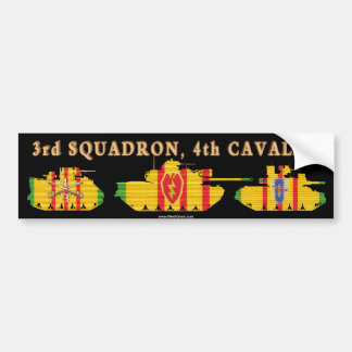 3/4th Cavalry VSR Armored Vehicles Bumper Sticker