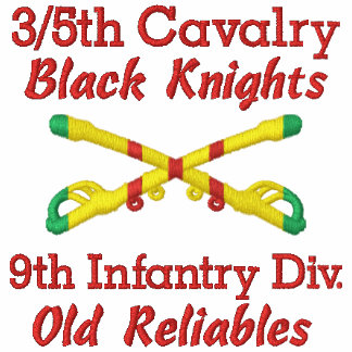3/5th Cavalry 9th Inf. Div. Crossed Sabers Shirt