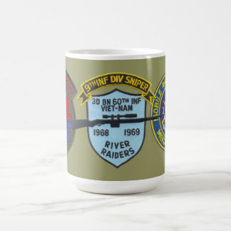 3/60th Infantry (Riverine) Sniper 9th Division Mug