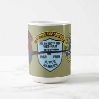 3/60th Infantry (Riverine) Sniper 9th Division Mug