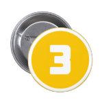## 3 ## 6 CM ROUND BADGE