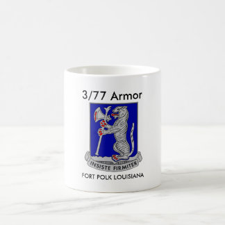 3/77 Armor Fort Polk Louisiana Coffee Cup