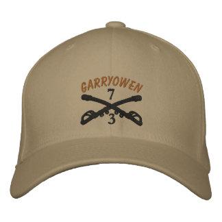 3-7th Cavalry Crossed Sabers OIF Ribbon Custom Hat Baseball Cap