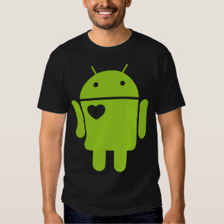 <3 Android Tee Shirts