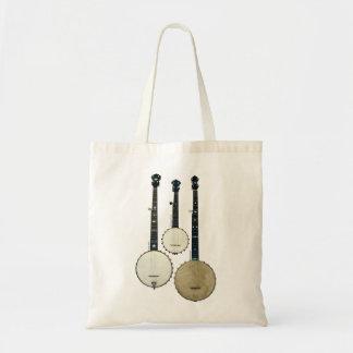 3 Banjos Tote Bag