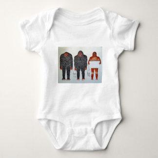 3 BIGFOOT, H, A, S, on white,.JPG Baby Bodysuit