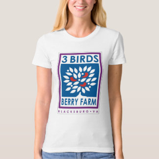 3 Birds Berry Farm Organic T-Shirt