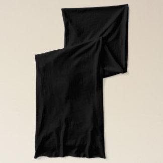 3 Black Chevron Pattern Scarf