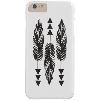 """3 Black Feathers"" iPhone 6 Plus Case"