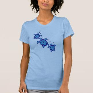 3 Blue Honu Turtles Shirts