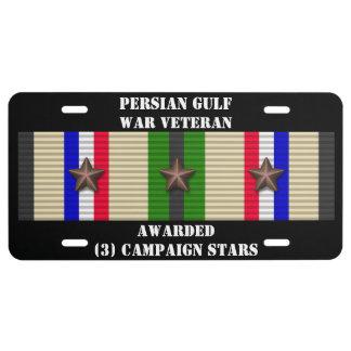 3 CAMPAIGN STARS PERSIAN GULF WAR VETERAN