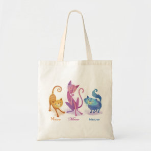 3 Cats Tote Bag