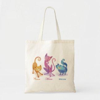 3 Cats Tote Bag