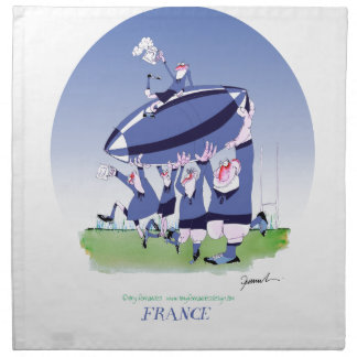3 cheers french rugby, tony fernandes napkin