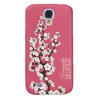 3 Cherry Blossom (rose pink) Galaxy S4 Case