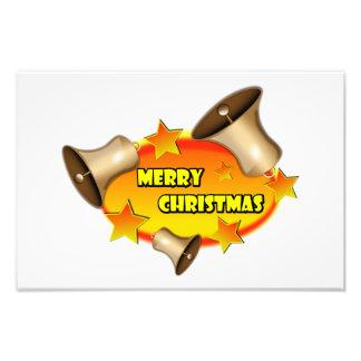 3 Christmas bells clipart Art Photo
