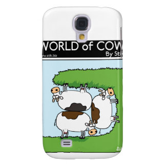 3 Cows grazing Galaxy S4 Case