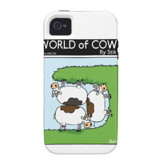 3 Cows grazing iPhone 4/4S Covers