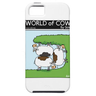 3 Cows grazing iPhone 5 Cover