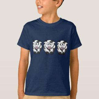 3 Cows Kids T-Shirt