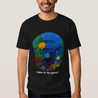 3-D Aquarium T-shirts