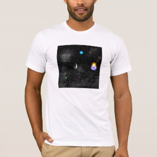 3-D Earth And Outerspace View T-Shirt