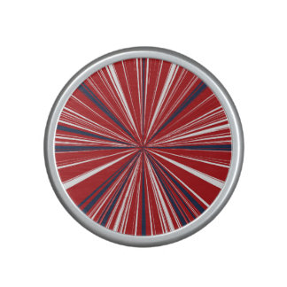 3-D explosion in Patriotic Colors Speaker