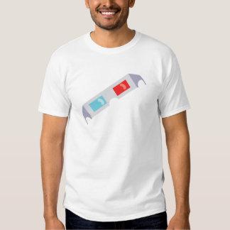 3-D Glasses Tshirts