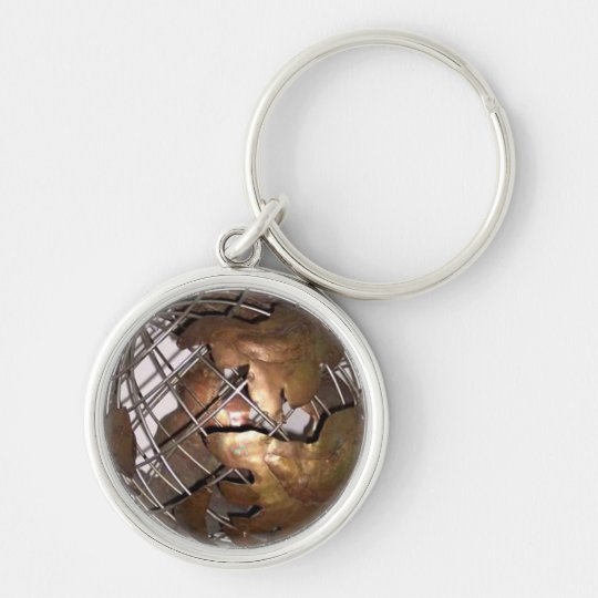 3-D Globe Keychain