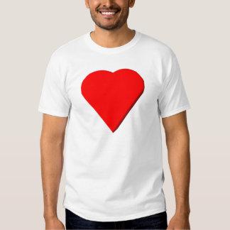 3-D Heart #1 T Shirts