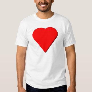 3-D Heart #1 Tshirt
