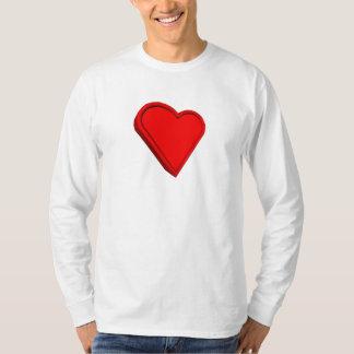 3-D Heart T-shirts