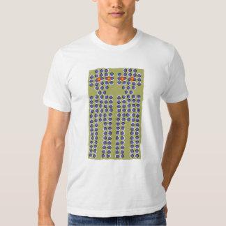 3-d para tee shirt