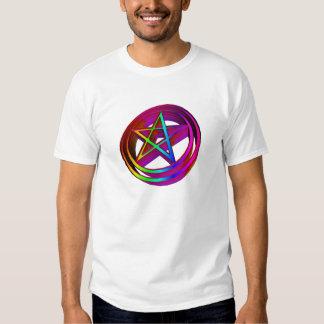 3-D Pentacle Tshirts