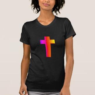 3-D Rainbow Cross Shirt