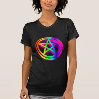 3-D Rainbow Pentacle #3 T-Shirt