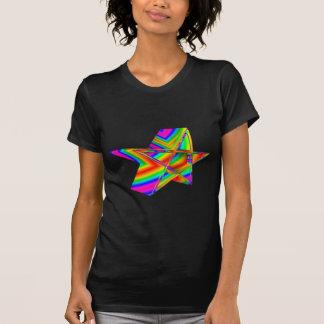 3-D Rainbow Pentagram T-Shirt