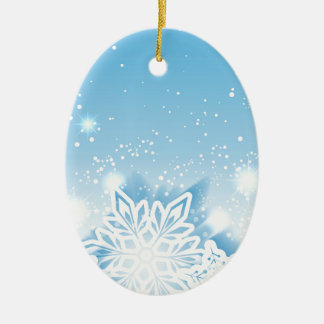 3-D snowflakes Christmas Ornament