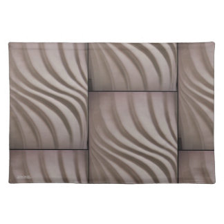 3-D Swirl Placemat