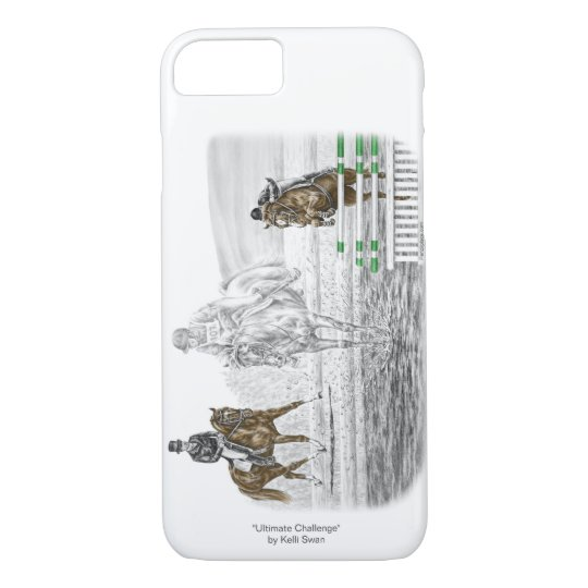 3-Day Eventing Horses Combined Training iPhone 7 Case